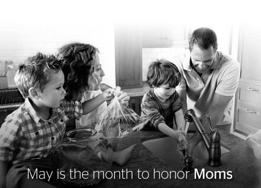 Contest: May is the month to honor Moms