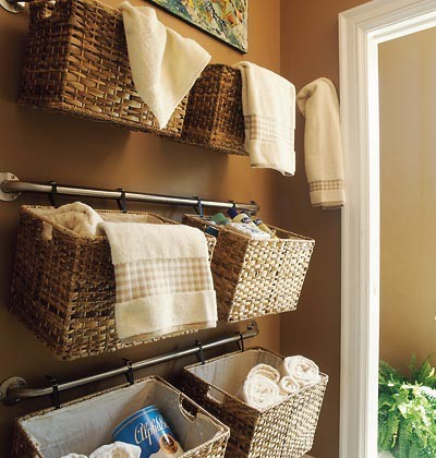 Simplify Life: Baskets and Bins Make Storage Easy - Pfister Faucets ...