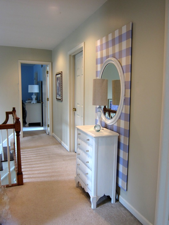 Fabric Wall Frames : What to do with boring walls in a rental pfister faucets