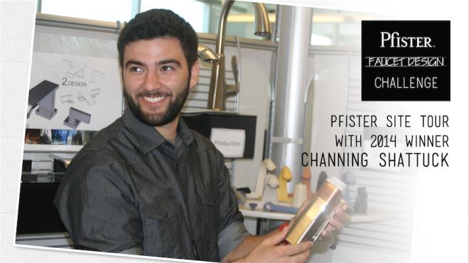 Faucet Design Challenge 2014 Winner Channing Shattuck