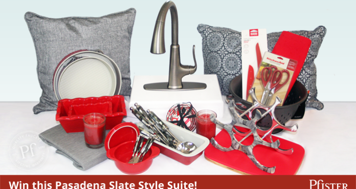 "Win the ""Pasadena Slate Style Suite""!"