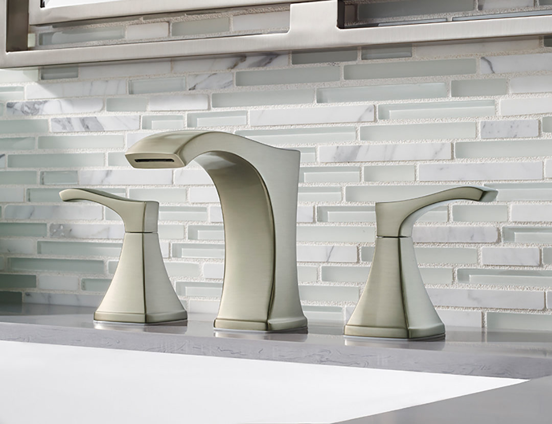 The Venturi faucet is a statement piece. Bold, yet elegant Venturi delivers water in a unique ribbon. Its versatile design can easily be combined with a variety of bathroom styles, making it an outstanding choice for any remodel project.
