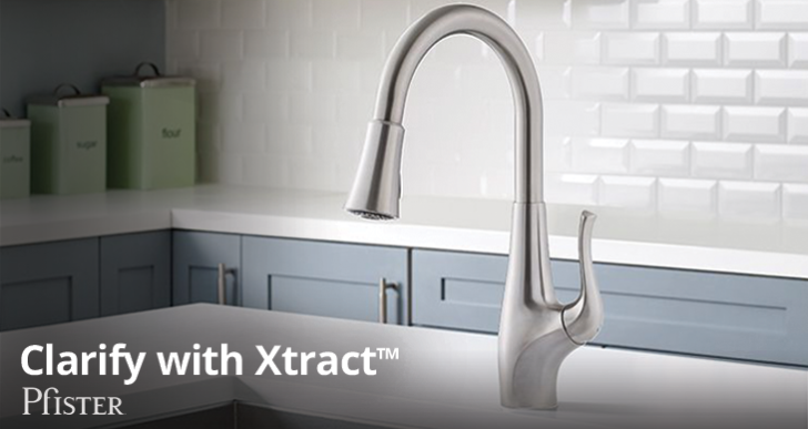 Introducing the Clarify With Xtract™ Kitchen Faucet