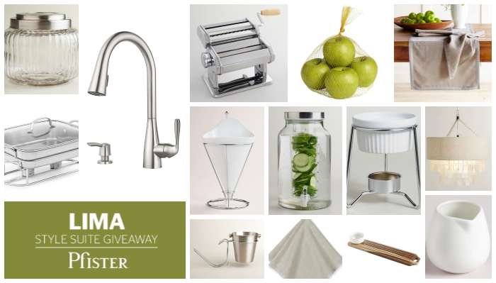 Lima Style Suite Giveaway Pfister Faucets Kitchen