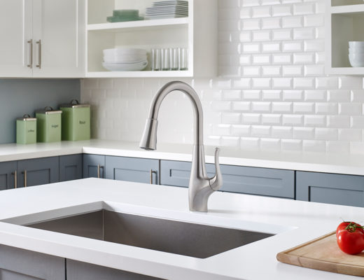Pfister faucets with Xtract technology deliver great-tasting filtered water and regular tap water from a single faucet, 2X faster than typical water filter products.