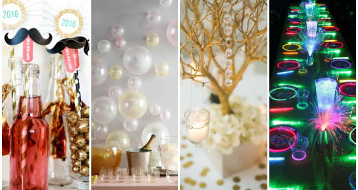 Clever New Year's Eve tables for under $50!