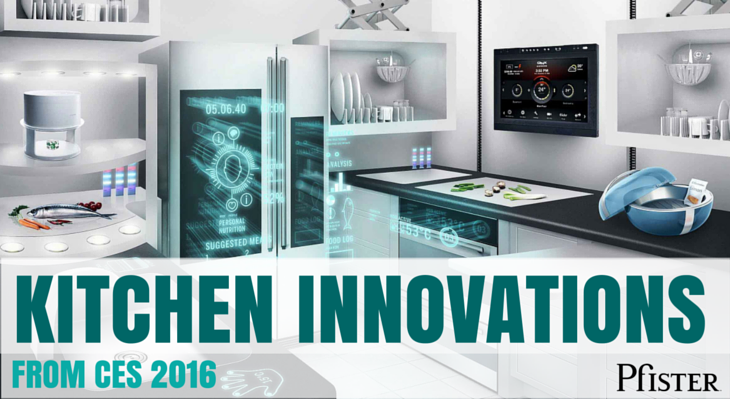 Ces is cooking up hot technology in 2016 pfister faucets kitchen bath design blog - Innovative kitchen and bath ...