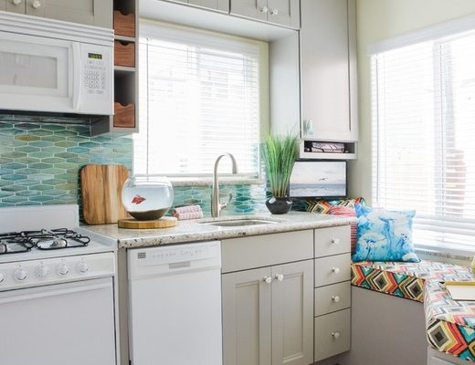 A San Diego couple needed storage for their beach gear and private space for personal time. Here's how they fit it all in a studio. - See more at: http://blog.pfisterfaucets.com/room-for-everything-in-a-275-square-foot-beach-studio/#sthash.YZpNFZr4.M02JRQ4l.dpuf