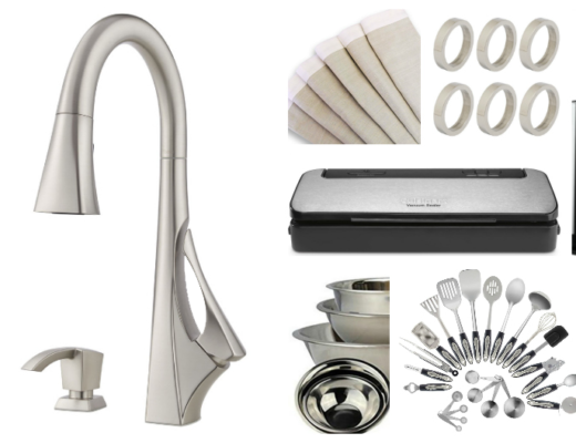 Enter to win the Venturi Style Suite from Pfister Faucets!