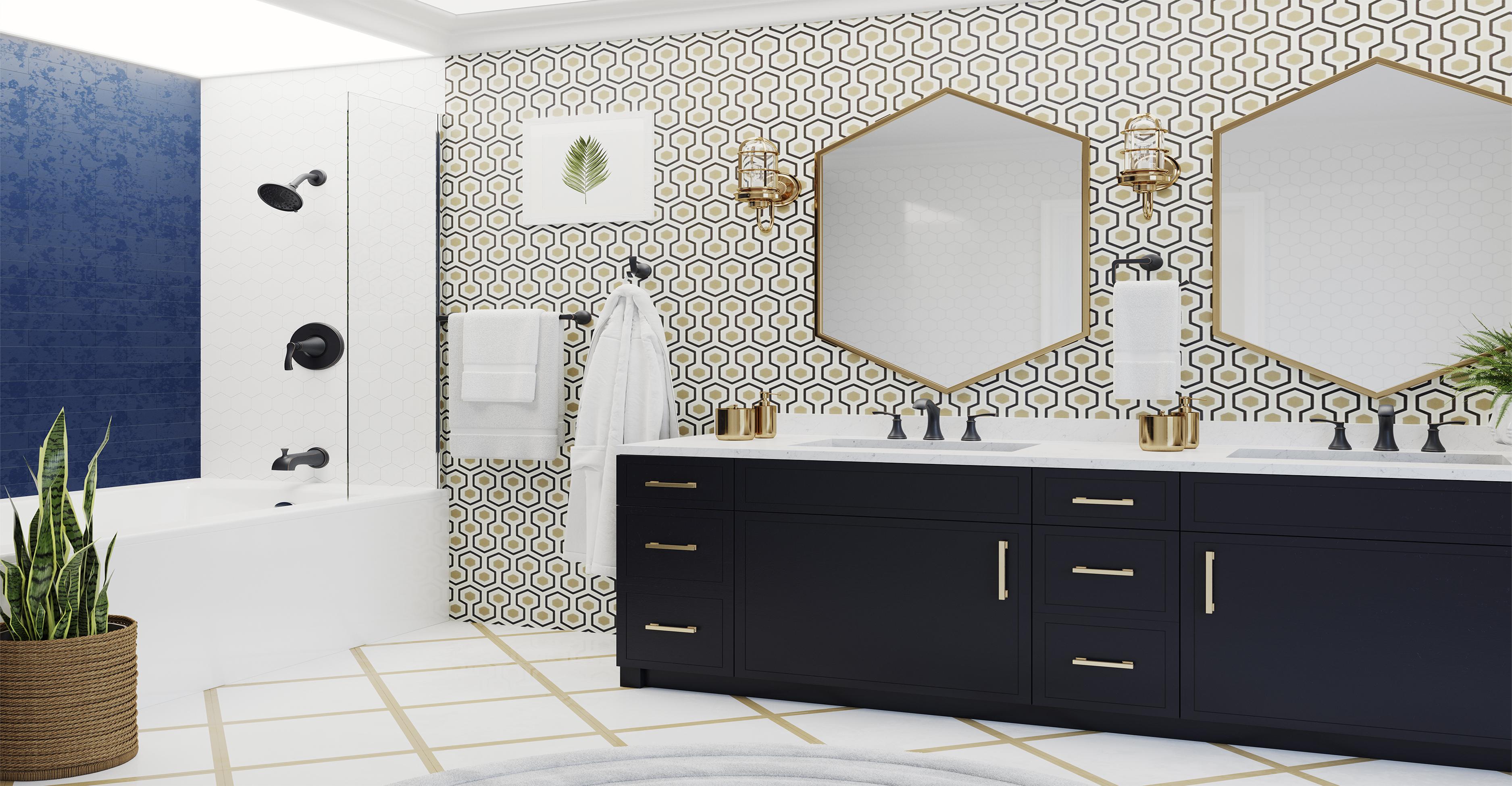 The Auden Bath Collection - Pfister Faucets Kitchen & Bath Design Blog