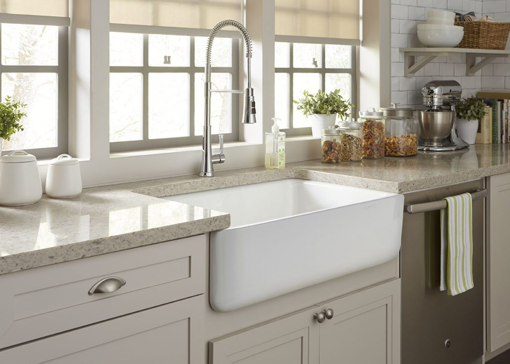 Create a Modern Farmhouse Look for Less - Pfister Faucets Kitchen ...