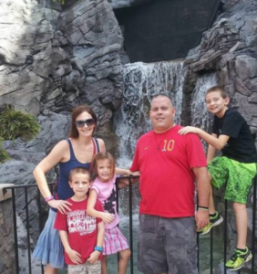 Corpsman Fortwangler, his wife tara, and their three children will Receive a mortgage-free home in Wesley Chapel, Florida.